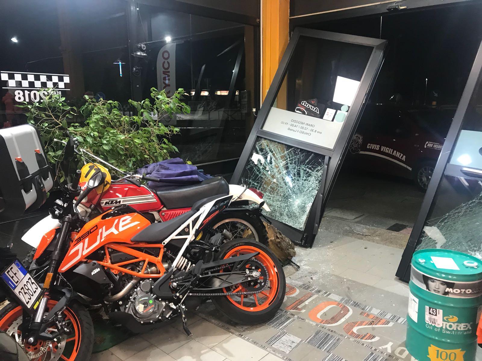 Crema News - Rubate 4 moto alla Sissi Motor, valore 40mila euro