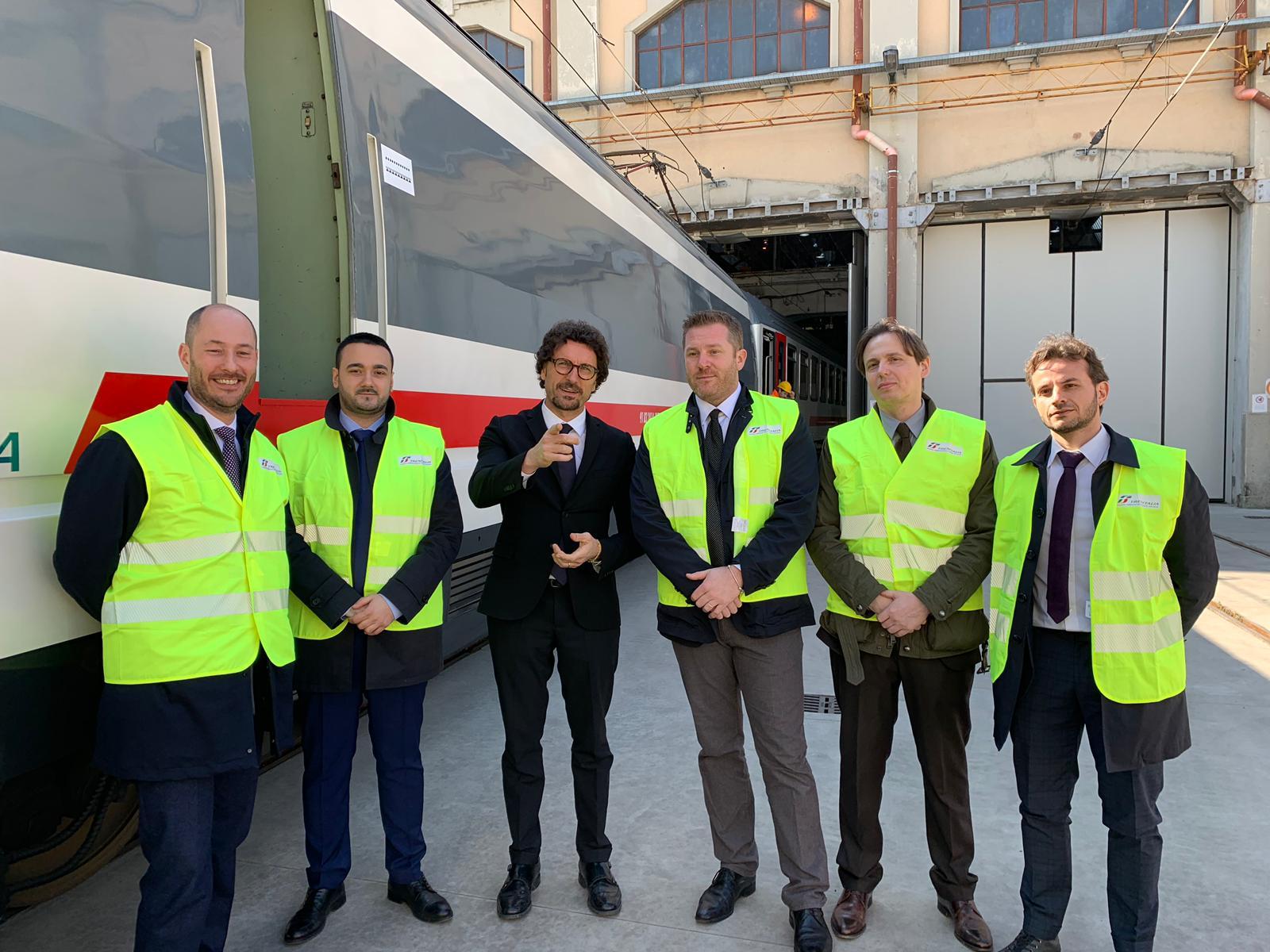 Crema News - Sopralluogo all'officina manutenzioni delle ferrovie