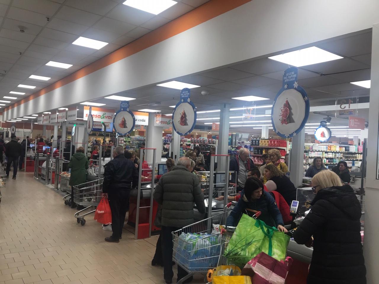 Crema News - Boom del nuovo supermercato Conad